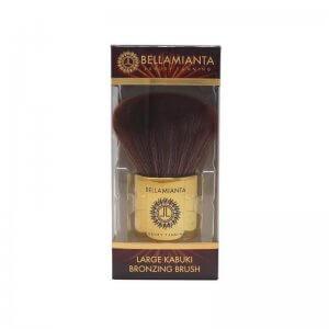 Bellamianta - Large Kabuki Bronzing Brush in packaging