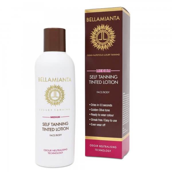 Bellamianta - Medium Self Tanning Tinted Lotion product image