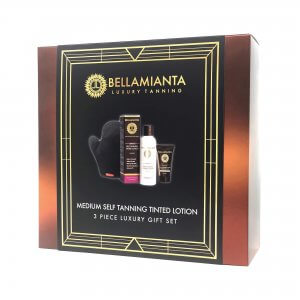 Bellamianta - Medium Self Tanning Tinted Lotion Gift Set