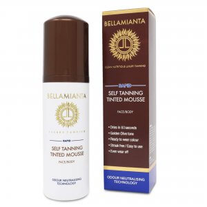 Bellamianta Rapid Self Tanning Tinted Mousse