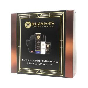 Bellamianta - Rapid Self Tanning Tinted Mousse Gift Set