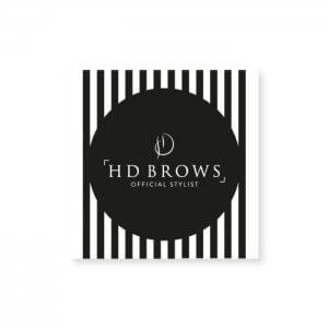 HD Brows - Stylist Window Cling
