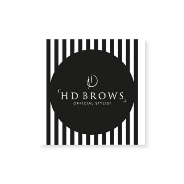 HD Brows - Stylist Window Cling