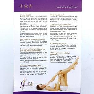 MiniMi Consumer Leaflet Back