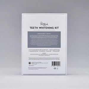 Polished London - Teeth Whitening Kit reverse of packaging