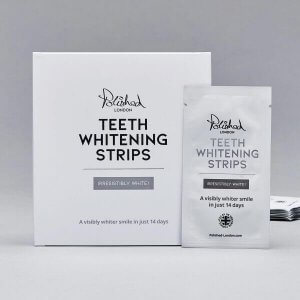 Polished London - Teeth Whitening Strips contents