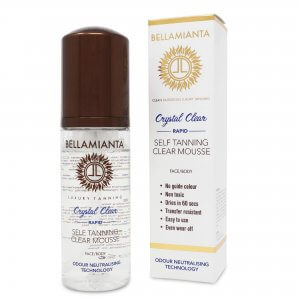 Bellamianta Crystal Clear Rapid Self Tan Mousse (150ml)