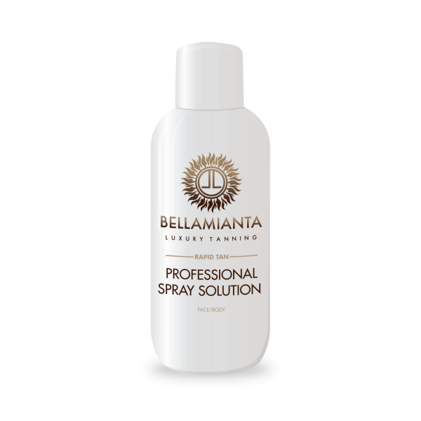 Bellamianta Rapid Tan Professional Spray Tan Solution