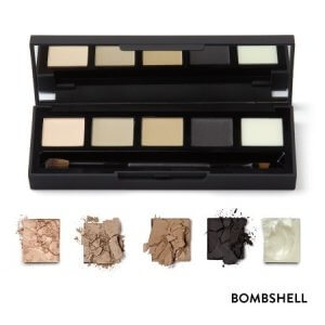 HD Brows Eye Brow Palette Bombshell-Swatches