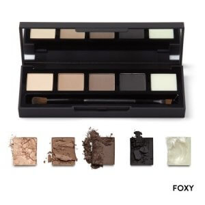 HD Brows Eye & Brow Palette - Foxy Swatches