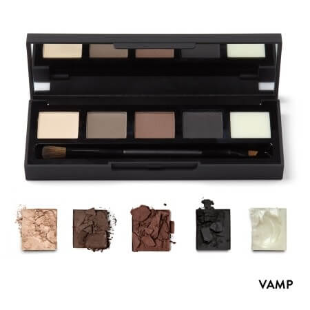 HD Brows Eye & Brow Palette Vamp Swatches