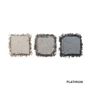HD Brows Eyeshadow Trio Palette Platinum Swatches