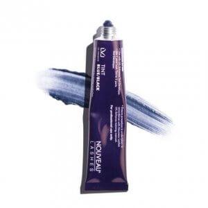 Nouveau Lashes LVL Eyelash Tint Blue_Black Swatch