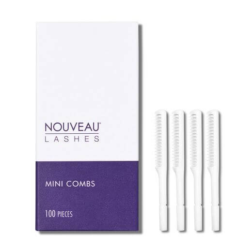 Nouveau Lashes Mini Combs with Box