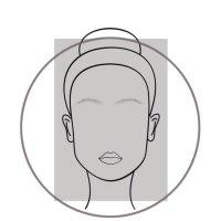 Oblong Face Shape Diagram Woman