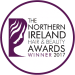 Northern Ireland Hair and Beauty Awards Winner 2017