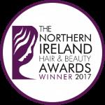Northern Ireland Hair and Beauty Awards Winner 2017