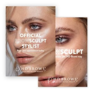 HD Brows - BrowSculpt Poster Two Sizes