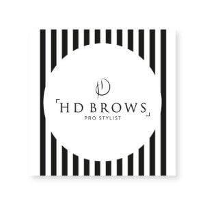 HD Brows - Pro Stylist Window Cling