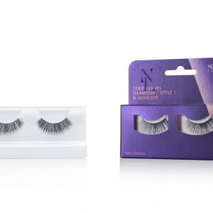 Nouveau Lashes Strip Lashes Glamour Style 1