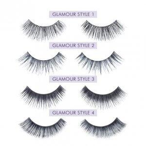 Nouveau Lashes Strip Lashes Glamour Styles