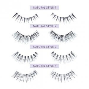 Nouveau Lashes Strip Lashes Natural Styles