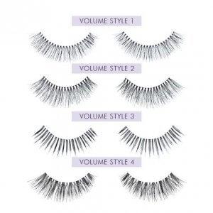 Nouveau Lashes Strip Lashes Volume Styles