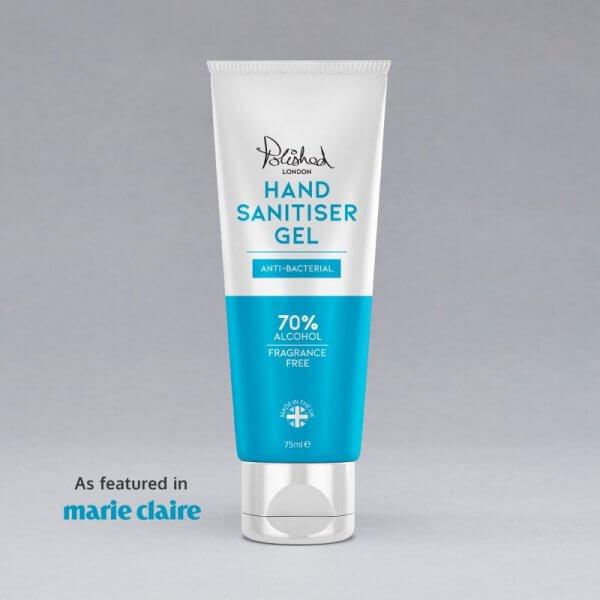 Polished London - Hand Sanitiser Front