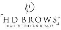 HD Brows Logo Black with Transparent Background