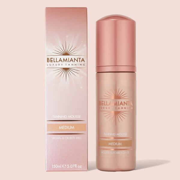 Bellamianta Medium Self Tanning Tinted Mousse (150ml)